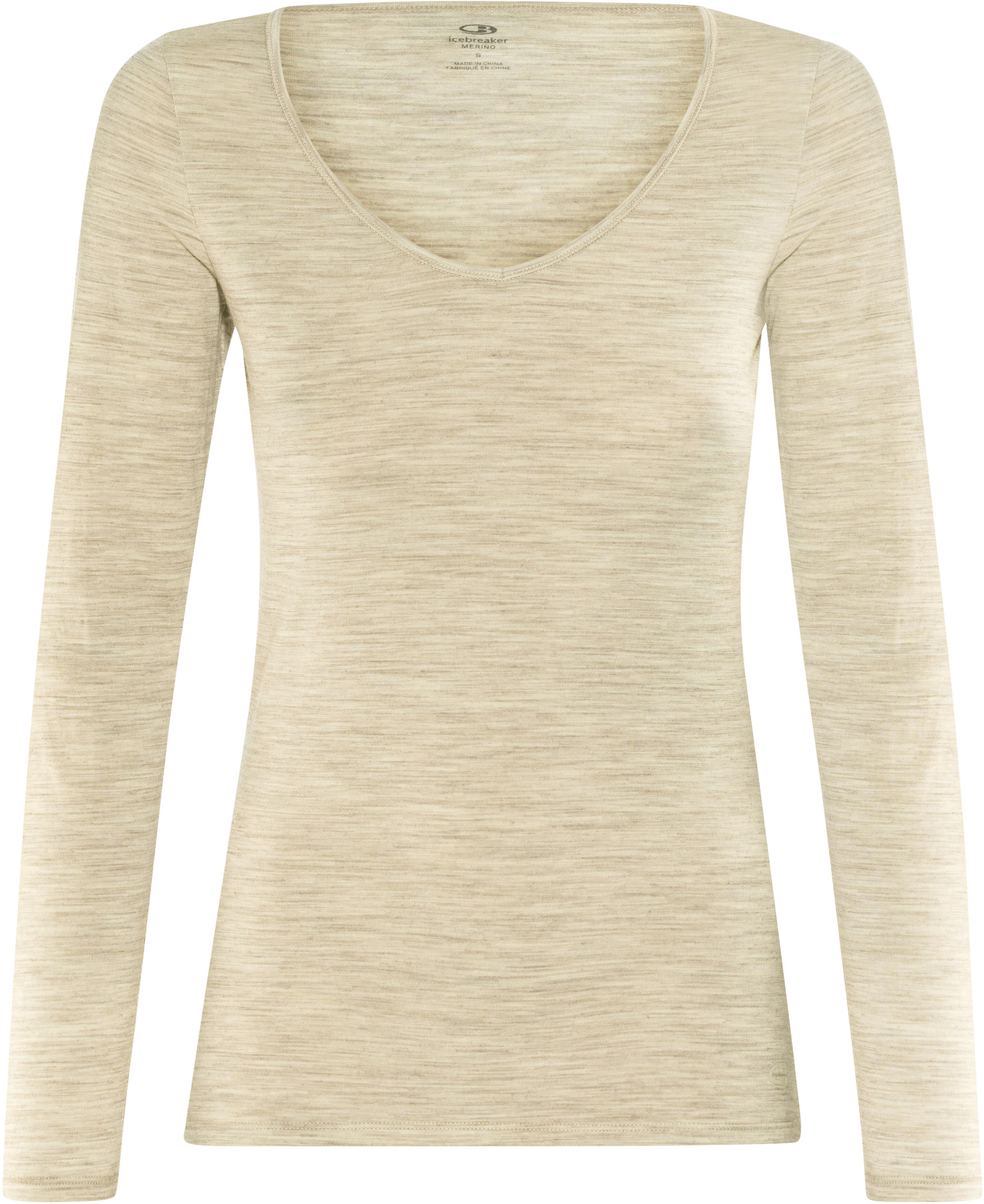 Icebreaker Siren - Sous-vêtement Femme - beige sur CAMPZ ! a9d33fc4bd6
